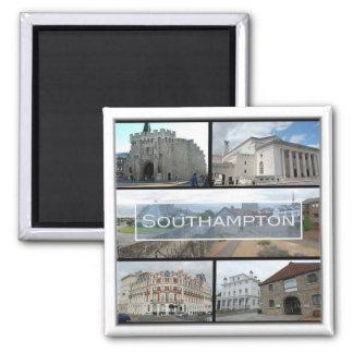 GB * England - Southampton Quadratischer Magnet