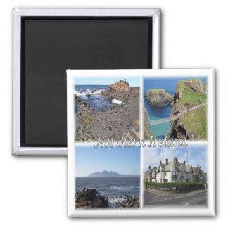 GB * Nordirland Quadratischer Magnet