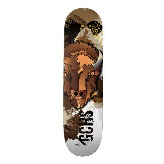 GCHS Büffel-Skateboard Personalisiertes Skatedeck