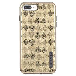 Gealterter Antiqued beige Incipio DualPro Shine iPhone 8 Plus/7 Plus Hülle
