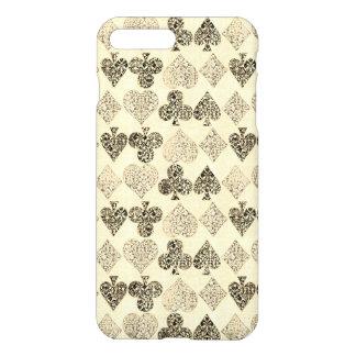 Gealterter Antiqued beige iPhone 8 Plus/7 Plus Hülle
