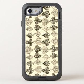 Gealterter Antiqued beige OtterBox Defender iPhone 8/7 Hülle