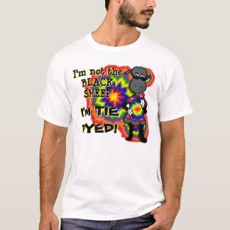 Gebatikte Schafe T-Shirt