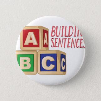 Gebäude-Sätze Runder Button 5,1 Cm