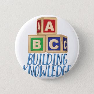 Gebäude-Wissen Runder Button 5,7 Cm