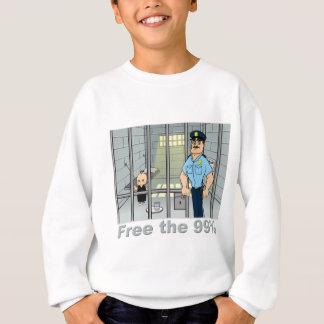 Geben Sie das 99% frei Sweatshirt