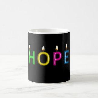 Geben Sie das Geschenk der Hoffnungs-Tasse Tasse