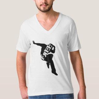 Geben Sie frei, um amerikanische Geldstrafe Jersey T-Shirt