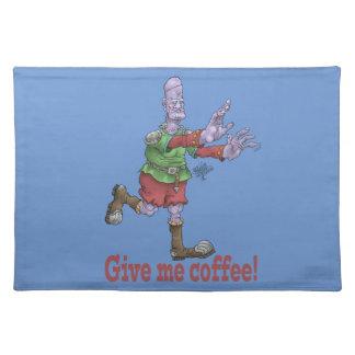 Geben Sie mir Kaffee! Platzmatte Tischset