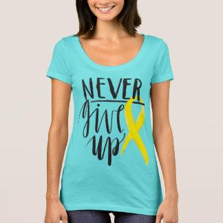 GEBEN Sie NIE folgenden waagerecht ausgerichteten T-Shirt