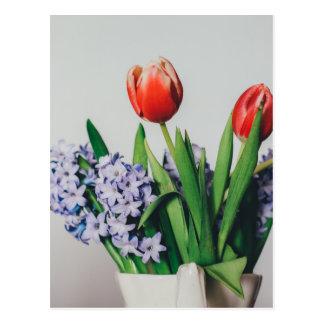 Geben Sie selbst ein positives Gefühl Postkarte