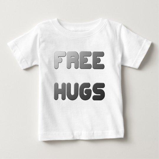 Geben Sie Umarmungen frei Baby T-shirt