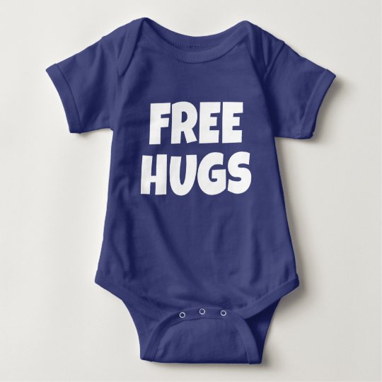 Geben Sie Umarmungs-Baby-Bodysuit frei Baby Strampler