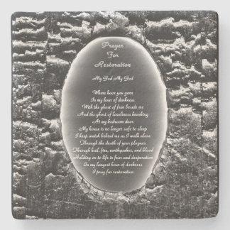 Gebet für Wiederherstellung Steinuntersetzer