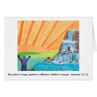 Gebet Karte