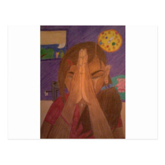 Gebet Postkarte