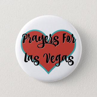 Gebete #vegasSTRONG Tribut-| für Las Vegas Runder Button 5,7 Cm