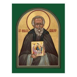 Gebets-Karte St. Andrei Rublev Postkarte