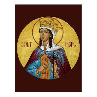 Gebets-Karte St. Irene Postkarte