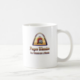 Gebets-Krieger-christliche klassische Tasse