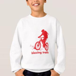 Gebirgsradfahrendes Spezialitäten-Shirt Sweatshirt