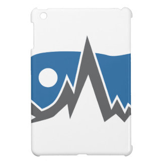 Gebirgszug-Ikone iPad Mini Hülle
