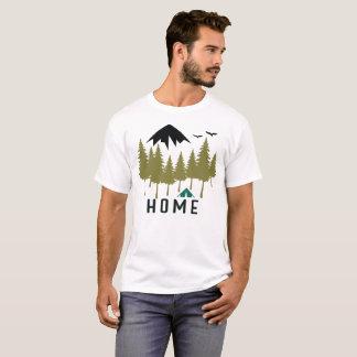 GebirgsZuhause-Camping draußen T-Shirt