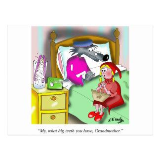 Gebiss-Cartoon 9394 Postkarte