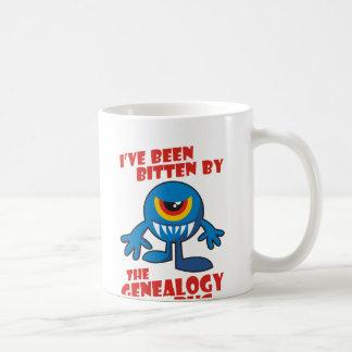 Gebissen durch die Genealogie-Wanze Tasse