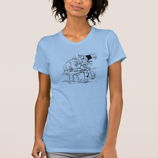 Gebohrte Zauberer- von Ozvogelscheuche-Vintage T-Shirt