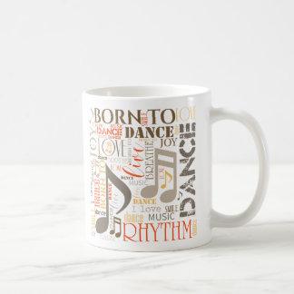 Geboren, Brown ID277 zu tanzen Kaffeetasse