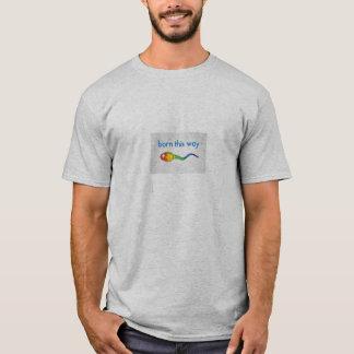 Geboren dieses T-Stück Weise Gays Pride LGBT T-Shirt