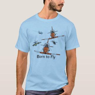 Geboren, Flieger-T - Shirt zu fliegen