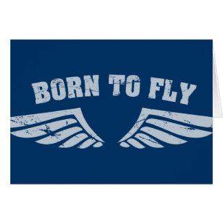 Geboren, Flügel zu fliegen Karte