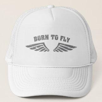 Geboren, Flügel zu fliegen Truckerkappe