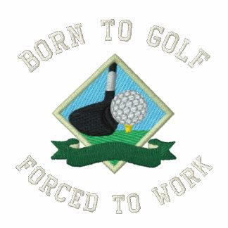 Geboren Golf zu spielen, Zwangs das lustige Golf Jacken