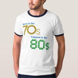 Geboren im 70er, eingeschlossen im 80er Retro T - T-Shirt