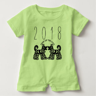 Born in Year of the Dog 2018 Baby Romper