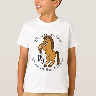 Geboren im Jahr des Pferds T-Shirt