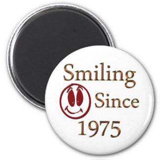 Geboren im Jahre 1975 Runder Magnet 5,1 Cm