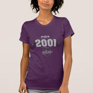 Geboren im Jahre 2001 (Light&Darkgrey) T-Shirt