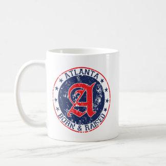 Geborenes und angehobenes Blau Atlantas Kaffeetasse