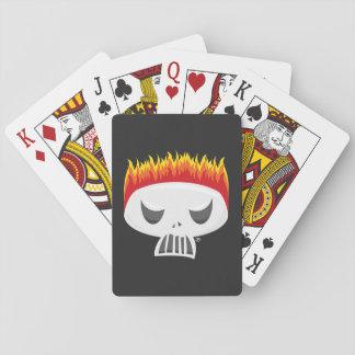 Gebrannte heraus - Spielkarten