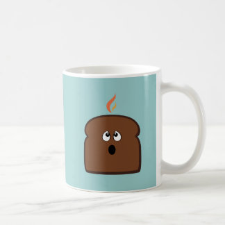 Gebrannter Toast Kaffeetasse