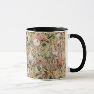 Gebratener Reis mit Garnele Tasse