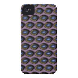 Gebrochene blaue Augen iPhone 4 Case-Mate Hüllen