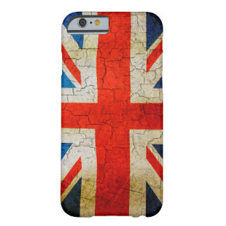 Gebrochener Königreich-Flagge iphone 6 Fall Barely There iPhone 6 Hülle