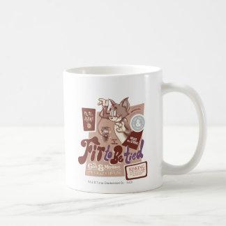 Gebunden zu werden Tom- und Jerry-Sitz Tasse