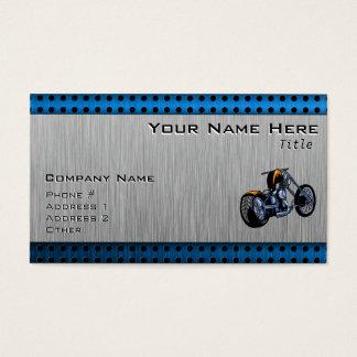 Gebürsteter Metall-Blick Chopper Visitenkarte