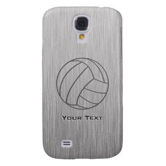 Gebürsteter Metall-Blick Volleyball Galaxy S4 Hülle